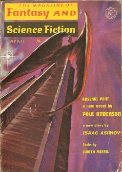 The Magazine of FANTASY AND SCIENCE FICTION (F&SF): April, Apr. 1965