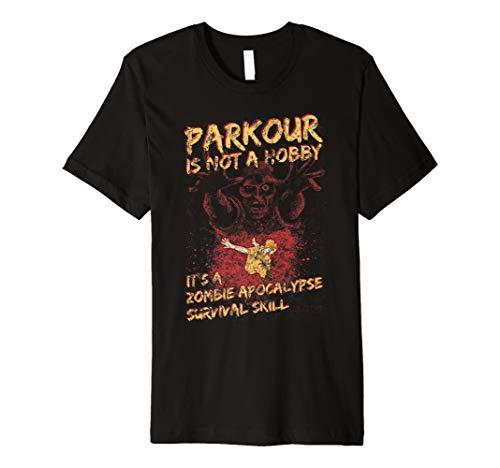 Funny Free Running Gear For Men, Women & Kids Halloween Premium T-Shirt (Best Parkour And Freerunning 2019)