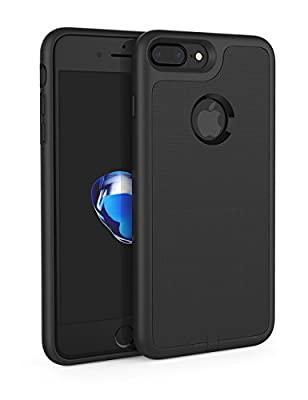 iPhone 7 Plus Receiver Case, Use with Wireless Charger Pad Yootech iPhone 7 Plus Wireless Charging Case Receiver Cover Case[Shock Absorption][Flexible Lightning Connector] ONLY for iPhone 7 Plus