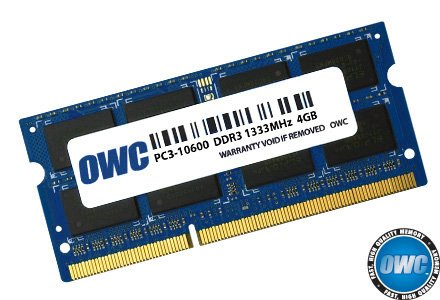 OWC 4.0GB 1333MHz 204-Pin DDR3 SO-DIMM (PC3-10600) CL9 Me...