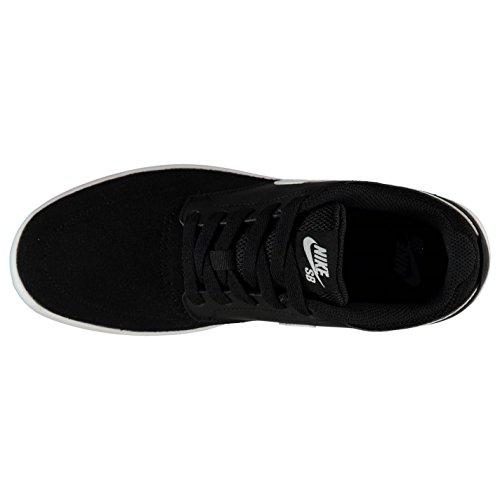 Nike SB Fokus Skate zapatos para hombre negro/blanco Casual zapatillas zapatillas, negro/blanco
