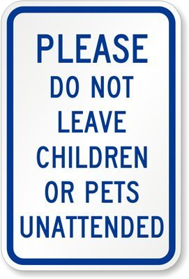 Please Do Not Leave Children Or Pets Unattended Engineer Grade