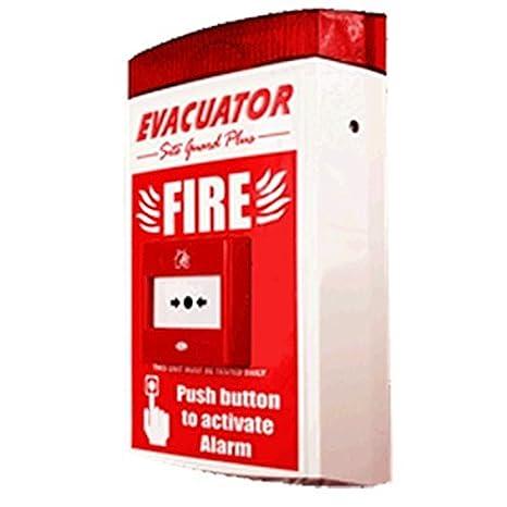 Amazon.com: Construction Site Fire Alarm - Evacuator Site ...