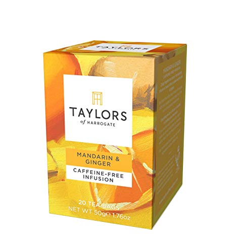 (Taylors of Harrogate Mandarin & Ginger Infusion, 20 Teabags )