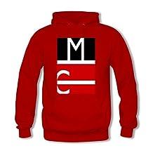 Magcon Custom Men's Hoody Hoodie Hooded Sweatshirt by Hkhoodies (Red)