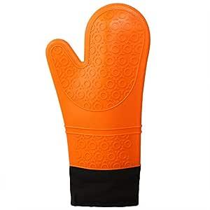 Guantes de horno para microondas, guantes de silicona resistentes ...