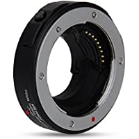 Viltrox JY-43F Auto Focus Mount Adapter with Four Thirds Mount for Olympus M4/3 E-P1, E-P2, E-PL1, E-PL2, E-PL3 etc.; Panasonic Lumix G1, G2, G10, GF1, GF2, GF3 etc. Black