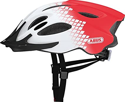 Abus 133695 - ADURO_Zoom_diamond_red_M Casco ADURO Zoom color diamond red talla M