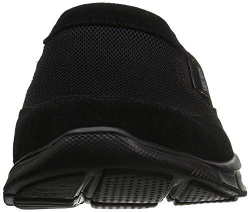 0 Negro para Hombre Zapatillas Equalizer sin 3 Cordones Skechers Sumnin wgATq