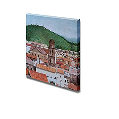 Classic Artwork, Magnificent Artistry, Oil Cathedral of Salerno Home Deoration Wall Decor