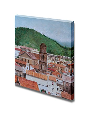 Oil Cathedral of Salerno Home Deoration Wall Decor ing