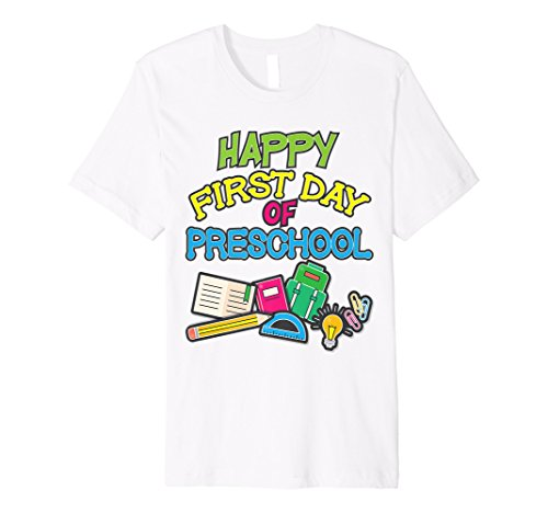 First Day Of Preschool Teacher Pre K Shirt School Girls Boys ()
