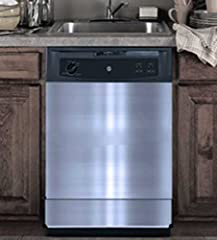 The RiversEdge Products replacement Dishwasher Door Panel Set includes two pieces of polished stainless steel cut to the dimensions of your under-counter dishwashers. This set is perfect for a pleasant upgrade to old, scratched door panels at...