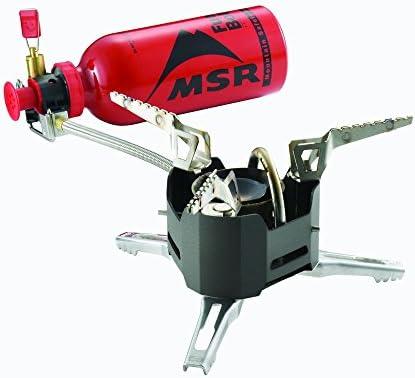 MSR XGK 9Lang Extreme - Hornillo de Gas para Camping, Color Negro