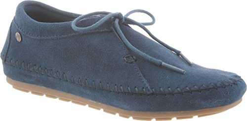 Bearpaw Womens Ellen Oxford Laars Blauw