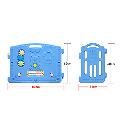 LIUFS-Fence Children's Play Fence Indoor Home Safety Crawling Mat Game Activity Center (Size : 18 Small Pieces) by LIUFS-Fence (Image #6)