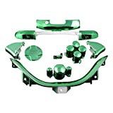 xbox 360 controllers cool colors - ModFreakz™ D-PAD RT LT RB LB ABXY Start Back Sync Trim Chrome Green For Xbox 360 Controller