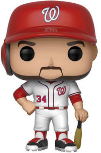 Funko Pop: Major League Baseball-Bryce Harper Collectible Figure, Multicolor