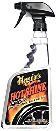 Meguiar\'s Hot Shine High Gloss Tire Spray. 24 oz.