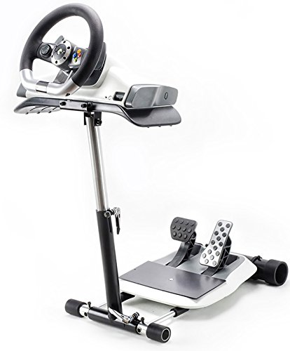 Mbox Racing Steering Wheelstand for the XBox 360 Wireless Wheel, not for Mad Catz, Original Wheel Stand Pro. Wheel and Pedals Not included. - Mad Catz Xbox 360 Steering Wheel