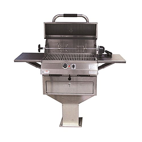 ries 24 In Pedestal Base Grill ()
