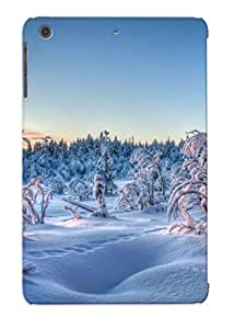 Tpu Senwoodseer Shockproof Scratcheproof Winter Forest Hard Case Cover For Ipad Mini/mini 2 For Lovers