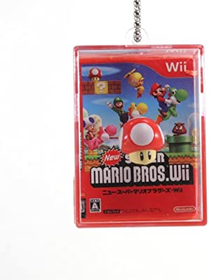 Amazon.com: New Super Mario Bros Wii caja de sombra resorte ...