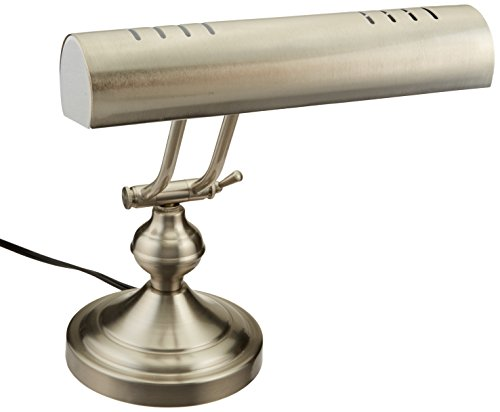 Boston Harbor ATB-8004 Piano Desk Lamp, Satin Nickel (Bankers Desk Light)