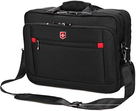 男性のショルダーバッグ 15.6 インチのラップトップメッセンジャーバッグ