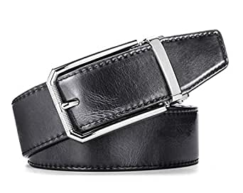 Black Fur Belt For Men