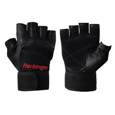 Harbinger 140 Pro WristWrap Glove (Black) from Harbinger