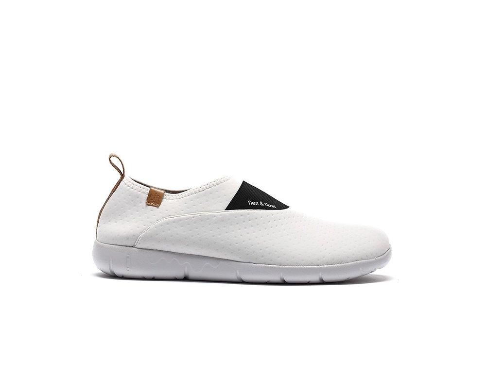 UIN Women's Sintra Lycra Breathable Slip B(M) On Shoe B01KLM9WI2 8 B(M) Slip US White 84e025