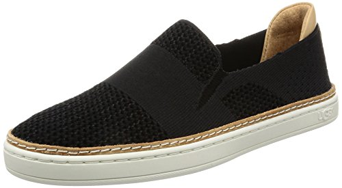 UGG Women's Sammy Fashion Sneaker, Black, 7.5 B US ()