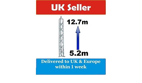 RADIOZING 5,2 m diseño de rombos de acero de la torre de ...