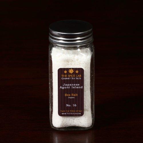 Aguni Island Finishing Sea Salt Japan - RARE SALT- in Spice (Japanese Sea Salt)