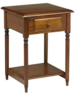 Amazon.com: Office Star Knob Hill Collection File Cabinet, Antique ...
