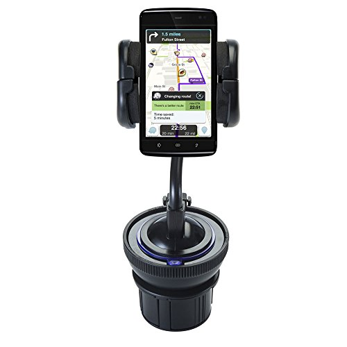 Exclusive Mounting System Includes Flexible Windshield and Cupholder Dell Streak 5 Mounts - Keep Your Device Secure in any Car / Truck by Gomadic