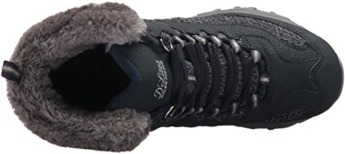 Skechers Womens Dlites Plaza W Snow Shoe Navy