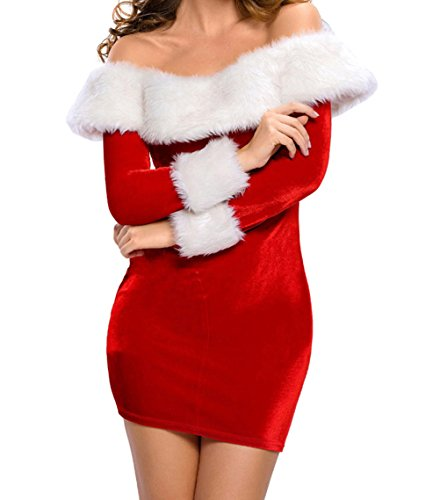 Zentai Costume Reviews (BYY Sexy Delightful Santa Sweetie Adult Costume(Size,S))