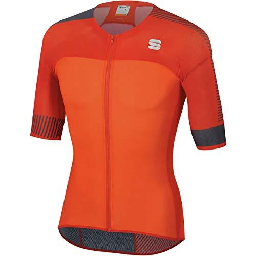 Sportful Bodyfit Pro Light 2.0 Jersey - Men's Orange Sdr/Fire Red, M from Sportful