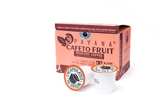 Colombian Coffee Cafeto Fruit Single-Serve Keurig K-Cup Pods - 12 Count - 100% Arabica