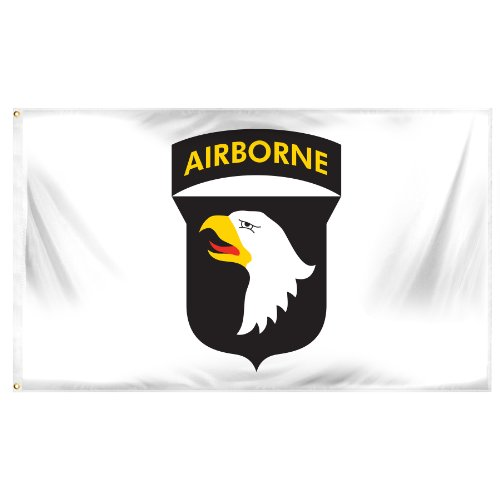 Online Stores Superknit Polyester 101st Airborne Flag, 3 by - Flag Airborne