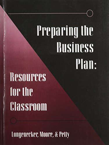 Preparing the Business Plan: Resources for the Classroom (Gc-Principles of Management Ser.))