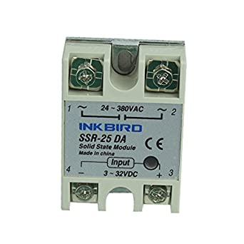 INKBIRD A SSR Solid State Relay For Temperature Controller - Solid state relay gets hot