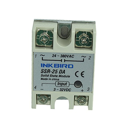 INKBIRD 25A SSR Solid State Relay for temperature controller