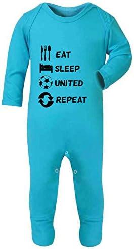 Comer dormir de repetición Ventilador de fútbol futbolista equipo ...