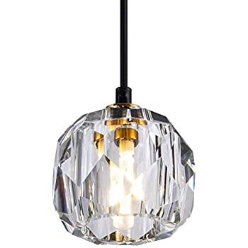 "Possini Euro Pantheon 4 3/4"" Wide Crystal Ceiling Light"