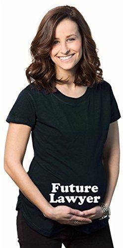 Crazy Dog TShirts - Maternity Future Lawyer Funny Pregnancy Announcement Tees Im Pregnant T shirts - damen -