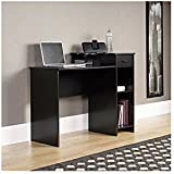 mainstays student desk black black office desks