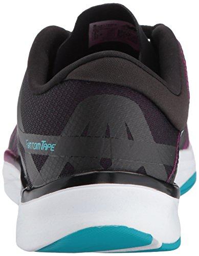 Ny Balanse Kvinners 811v2 Cross-trainer-sko Poisonberry / Svart